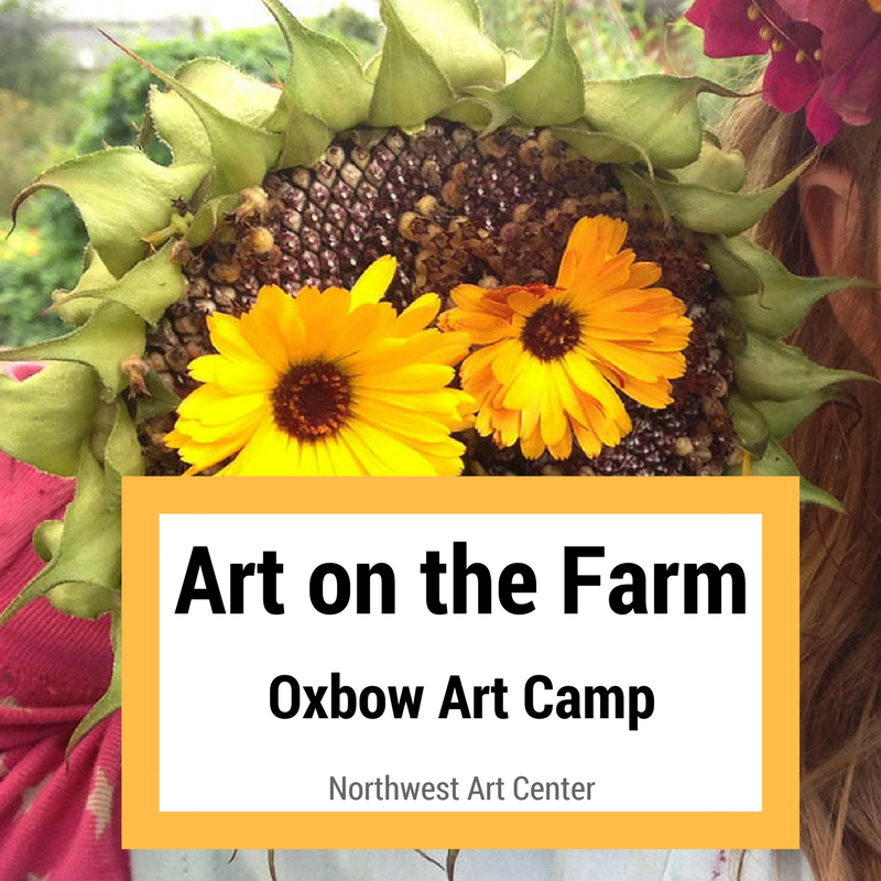 Enjoy a week of art and creative adventures at Oxbow farm!