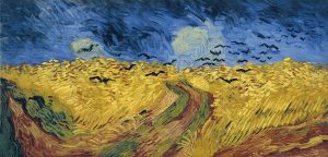 Wheat Fields with Crows, Vincent Van Gogh