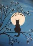 B14  Cat in Tree
