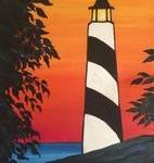 A15  Sunset Lighthouse