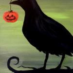 F4  Crow and Jack'o'lantern