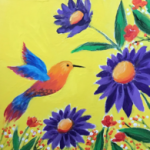 B27  Daisy Hummingbird