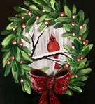 G8  Cardinal in Wreath