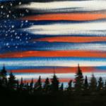 E15  Flag Sky