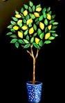 E12  Lemon Tree Chalkboard Sign