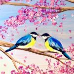 B25  Love Birds