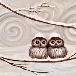 G4  Baby Snow Owls