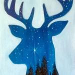 B19  Midnight Deer