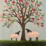 E5  Mama and Baby Sheep