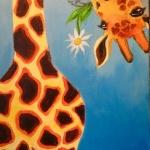 B22  Giraffe and Daisy