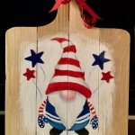 C4  July 4th Gnome, canvas only