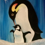 G1  Mama and Baby Penguins