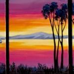 A7  Sunset Triptic