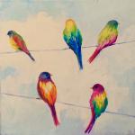 B1  Birds on Wire