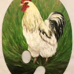 Chicken and Egg Painter's palette