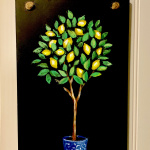 Lemon Tree Chalkboard Sign