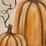 Pumpkin Wood Pallet
