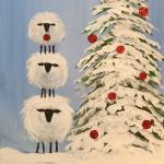 G24  Christmas Sheep Stack