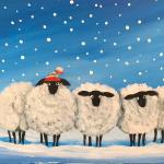 G19  Winter Sheep
