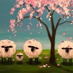 B36  Spring Sheep