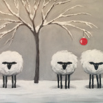 G23  Christmas Ornament Sheep